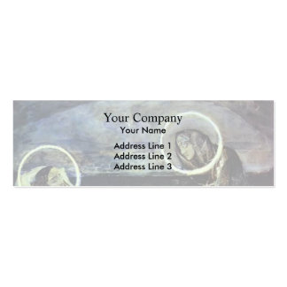 Mikhail Vrubel- Pieta Double-Sided Mini Business Cards (Pack Of 20)
