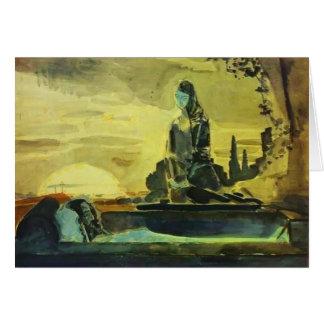 Mikhail Vrubel- Pieta Card