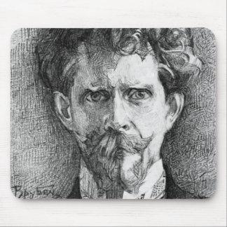 Mikhail Vrubel- Portrait of Doctor Fiodor Usoltsev Mouse Pads