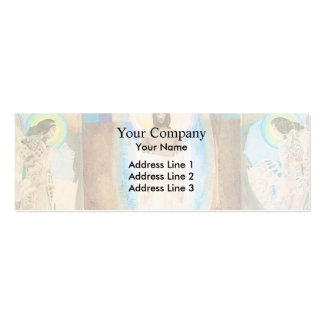 Mikhail Vrubel- Resurrection Double-Sided Mini Business Cards (Pack Of 20)