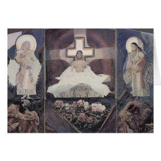 Mikhail Vrubel- Resurrection Greeting Card