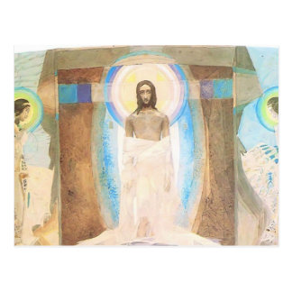 Mikhail Vrubel- Resurrection Postcard