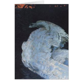 Mikhail Vrubel- Swan Cards