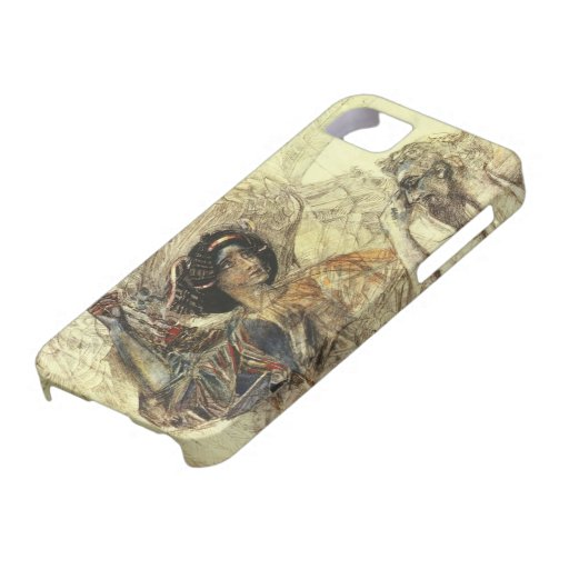 Mikhail Vrubel- The Six Winged Seraph iPhone 5/5S Cover