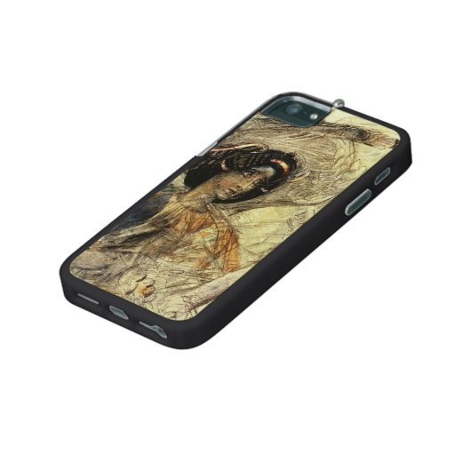 Mikhail Vrubel- The Six Winged Seraph iPhone 5/5S Case