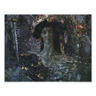 Mikhail Vrubel- The Six Winged Seraph Poster