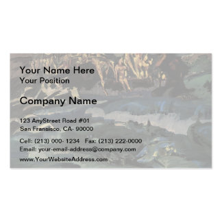 Mikhail Vrubel- Thirty-three knights Business Card Templates