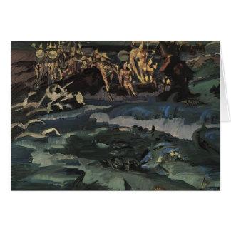 Mikhail Vrubel- Thirty-three knights Cards