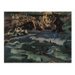 Mikhail Vrubel- Thirty-three knights Postcards
