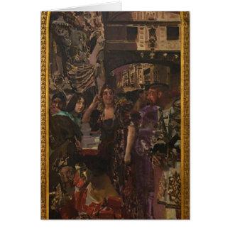 Mikhail Vrubel- Venice Greeting Card