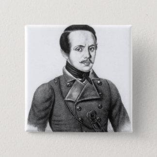 Mikhail Yuryevich Lermontov Button