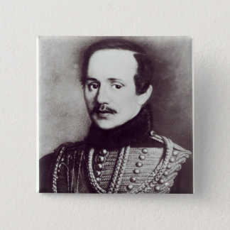 Mikhail Yuryevich Lermontov Pinback Button