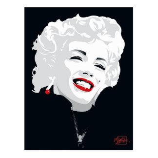 Miki Marilyn Postcard