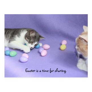 Mikie's Easter Eggs Postcard
