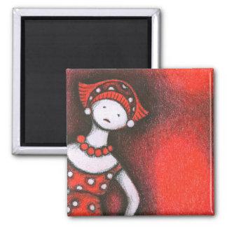 Mikiko 2 Inch Square Magnet