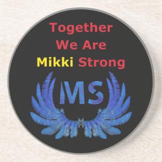 Mikki Strong Sandstone Coaster