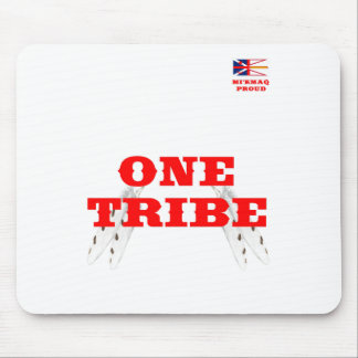 MI'KMAQ PROUD ONE TRIBE MOUSE PAD