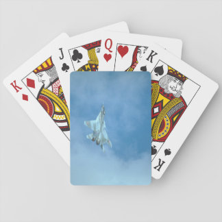 Mikoyan MIG-29 Fulcrum_Aviation Photography Playing Cards