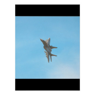 Mikoyan MIG-29 Fulcrum_Aviation Photography Poster