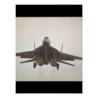 Mikoyan MIG-29 'Fulcrum_Aviation Photography Poster