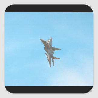 Mikoyan MIG-29 Fulcrum_Aviation Photography Square Sticker