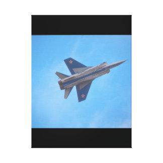 Mikoyan MIG-31 Foxhound_Aviation Photography Canvas Print
