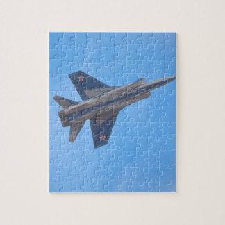 Mikoyan MIG-31 Foxhound_Aviation Photography Jigsaw Puzzle