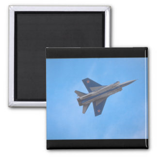 Mikoyan MIG-31 Foxhound_Aviation Photography Magnet