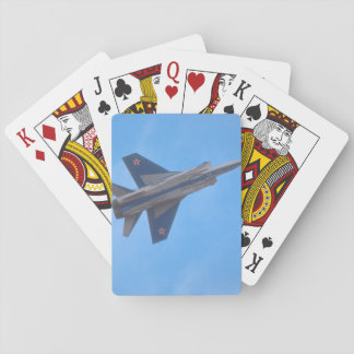 Mikoyan MIG-31 Foxhound_Aviation Photography Playing Cards