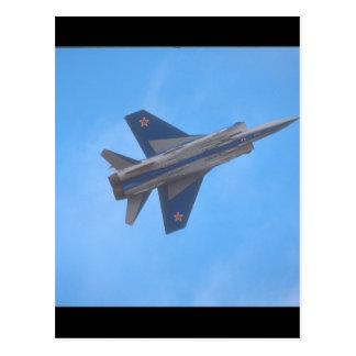 Mikoyan MIG-31 Foxhound_Aviation Photography Postcard