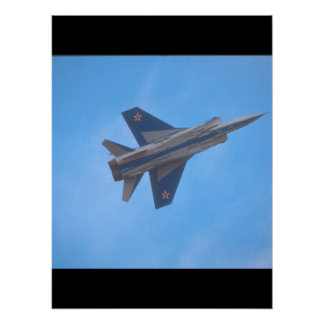 Mikoyan MIG-31 Foxhound_Aviation Photography Poster