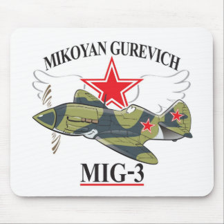 mikoyan mig-3 mouse pad