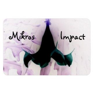MIKROS IMPACT FLOWER CAR MAGNET