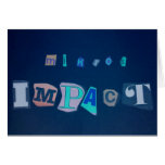 MIKROS IMPACT GREETING CARD