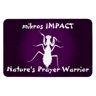 MIKROS IMPACT PRAYER WARRIOR CAR MAGNET