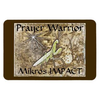 MIKROS IMPACT PRAYER WARRIOR MAGNET