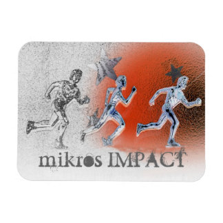 MIKROS IMPACT RACE DAY MAGNET