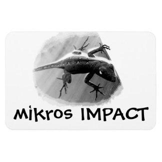 MIKROS IMPACT SHADOW LIZARD FLEX MAGNET