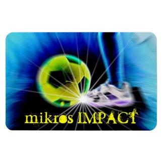 MIKROS IMPACT SOCCER BALL MAGNET