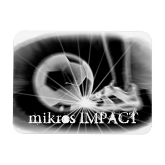 MIKROS IMPACT SOCCER MAGNET