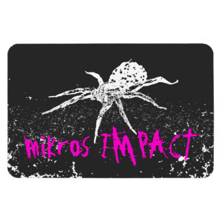 MIKROS IMPACT SPIDER CAR MAGNET