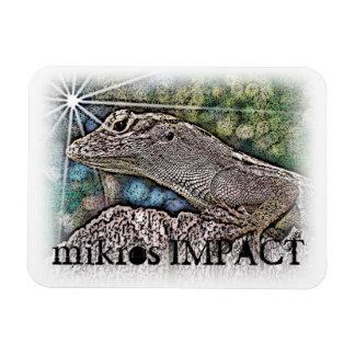 MIKROS IMPACT STAR LIZARD MAGNET