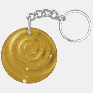 MikroWorld_spiral Keychain