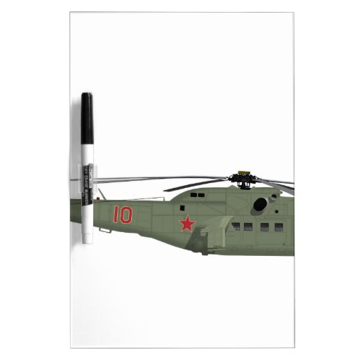 Mil 24A Hind Early Dry-Erase Whiteboards