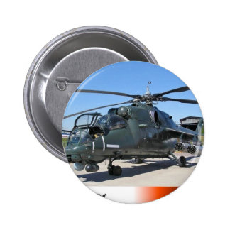 MIL 35 HIND RUSSIAN HELICOPTER BUTTON