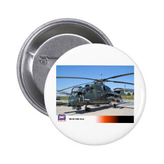 MIL 35 HIND RUSSIAN HELICOPTER PINBACK BUTTON