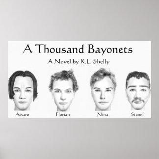 Mil bayonetas (poster) póster