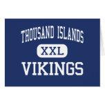 Mil centros Clayton de Vikingos de las islas Tarjetón
