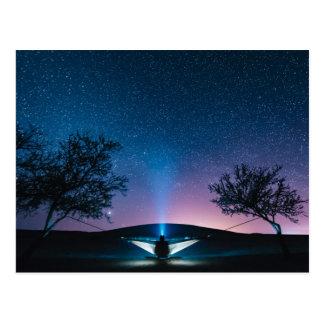 Mil estrellas en el cielo tarjetas postales