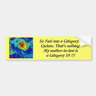 MIL is a Cat 10 Cyclone. Bumper Sticker